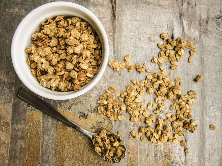 *Peanut Butter & Honey Granola*
