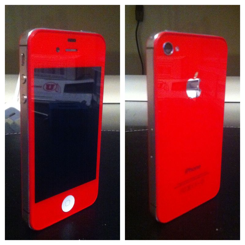 red iphone? so cute and only $80