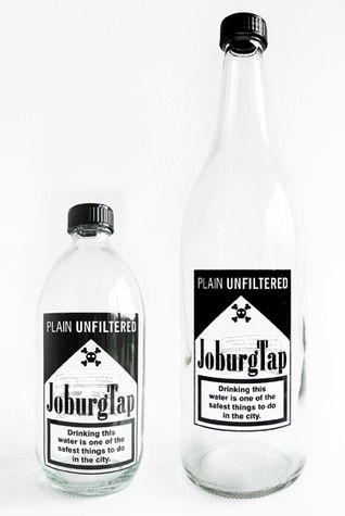 JoburgTap - Glass bottles for drinking water  Johannesburg