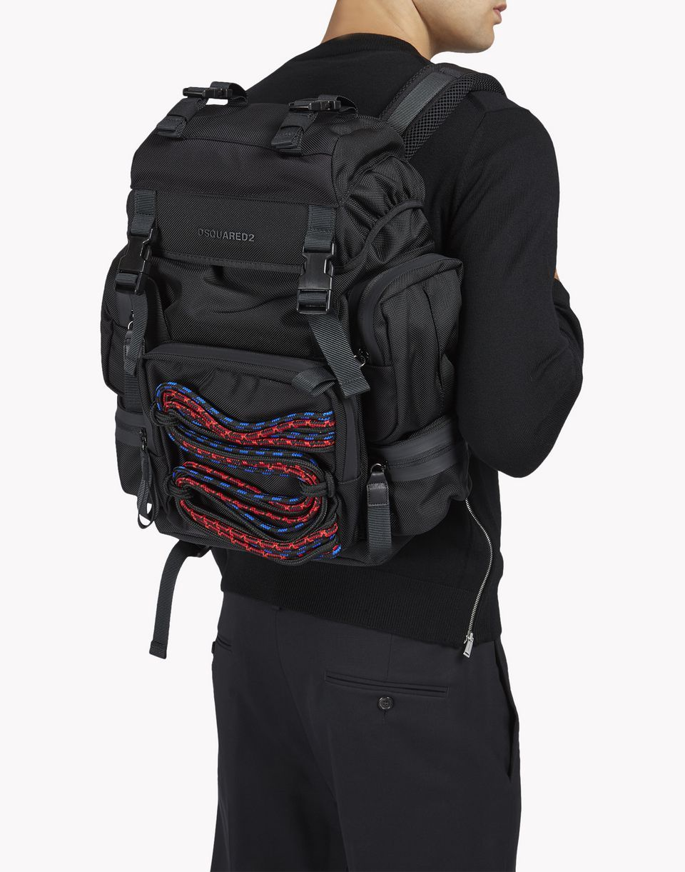 06f8b4bfdb akira techno cord backpack sacs Homme Dsquared2 | Backpack ...
