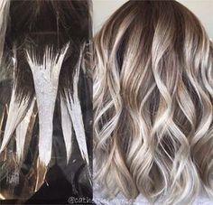 Wie Balayage Haare zu bekommen.   – Frisurentrends 2018 und Haar Ideen