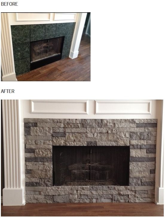 Airstone At Lowes Easy To Install Stone Veneer Airstone Fireplace Renovation Home Living Room