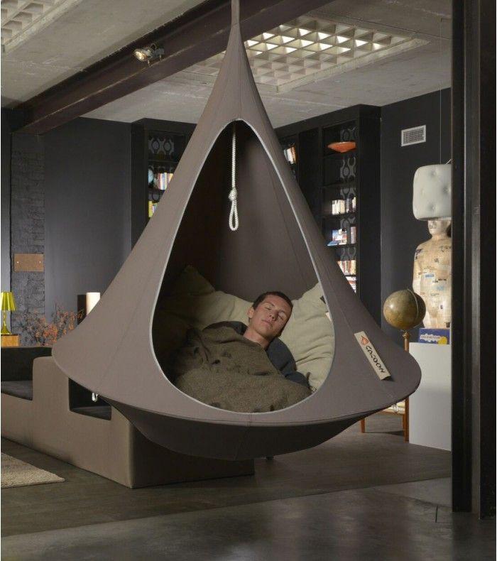 fauteuil suspendu cacoon designilove hammock tent cacoon hammock et hammock balcony. Black Bedroom Furniture Sets. Home Design Ideas