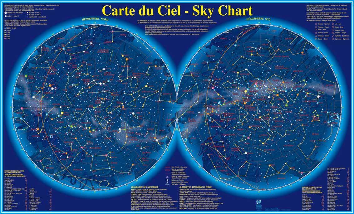 Carte Du Ciel Avec Images Carte Du Ciel Ciel Carte