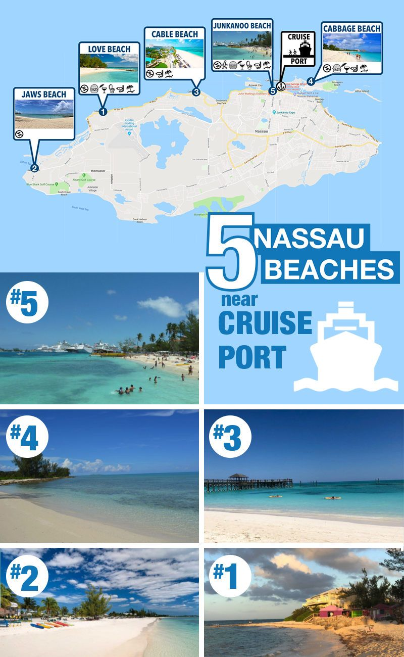 5 Best (and Free) Beaches Near Nassau Cruise Port