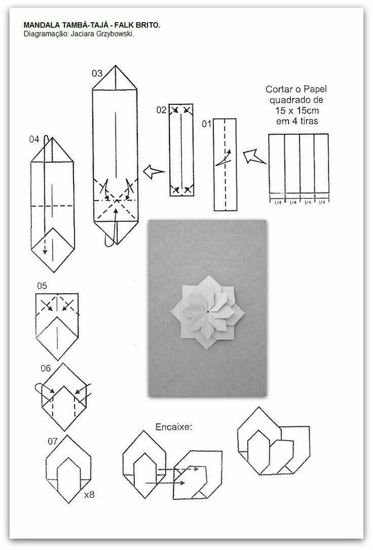 pin by zusanna u0026 39 s craft on modular origami