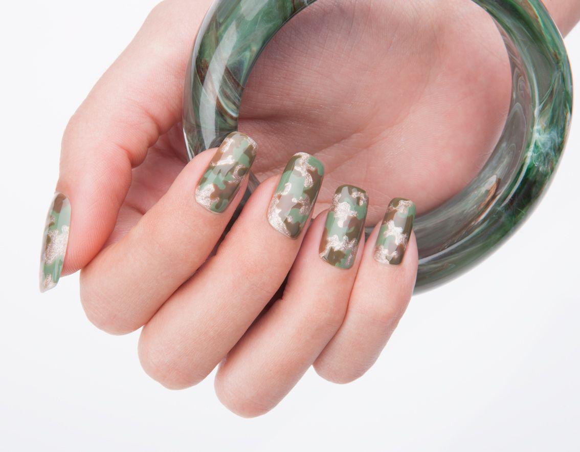 military nail art by Estrosa | My Style | Pinterest | Military nails ...
