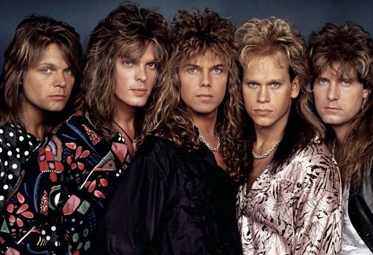 Pin By Starrynight On Europe Europe Band 80s Hair Bands Big Hair Bands