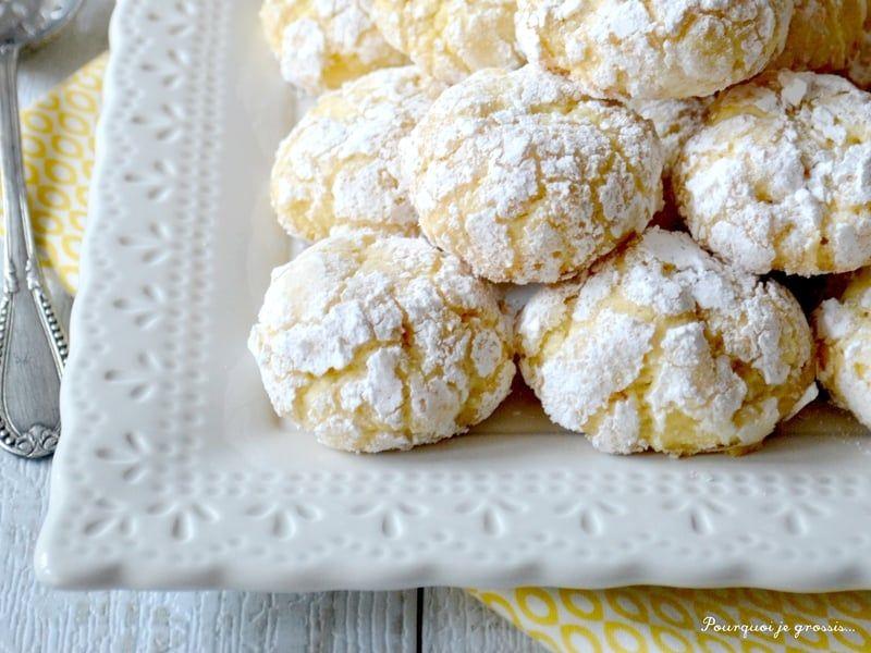 Recette de Biscuits moelleux au citron, Biscotti morbidi al limone : la recette facile