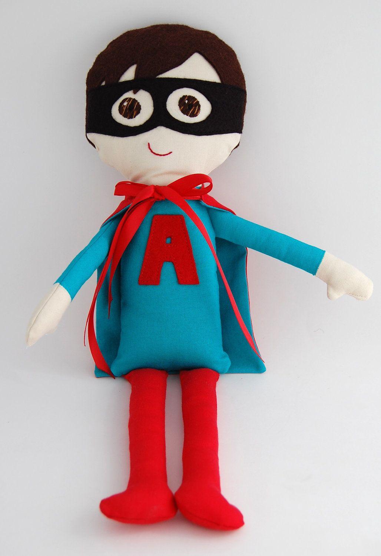 Custom Boy Superhero Doll - Personalized My Gigi Doll. $55.00, via Etsy. #boydollsincamo