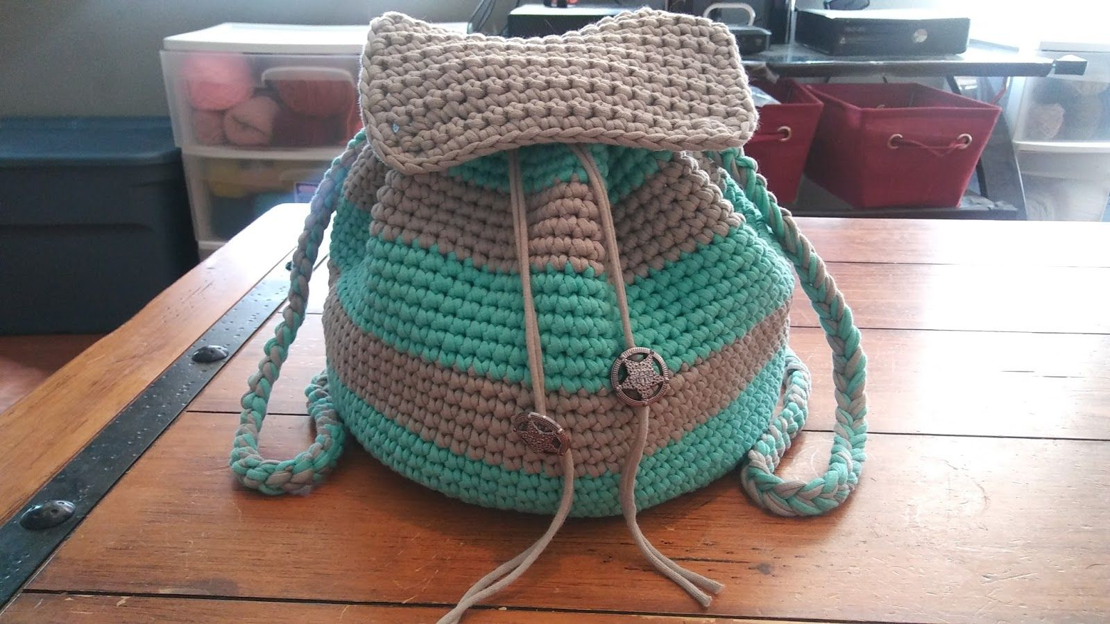 Hello again! A couple days ago I posted a photo of a backpack I made ...