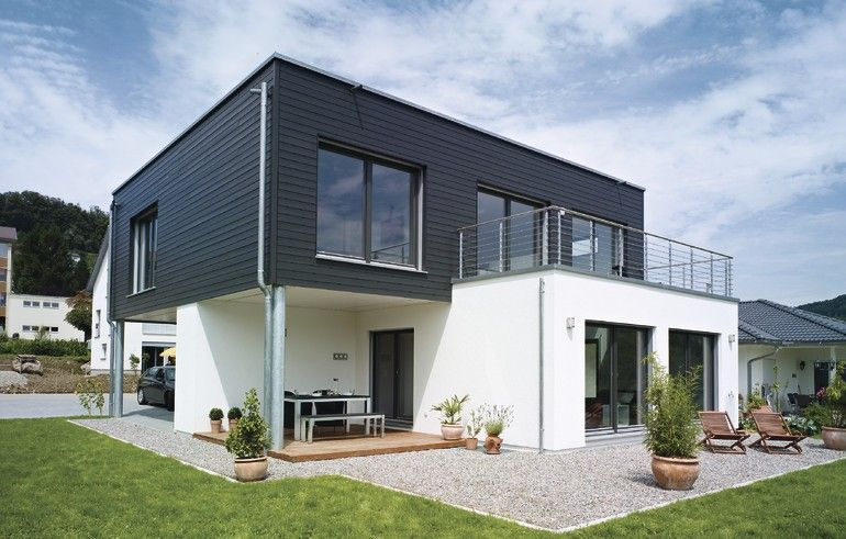 Design trifft wohnkomfort house of dreams pinterest for Flachdachhaus modern