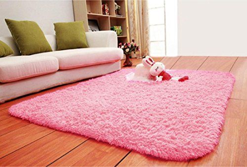 ACTCUT Super Soft Modern Shag Area Silky Smooth Rugs Living Room ...
