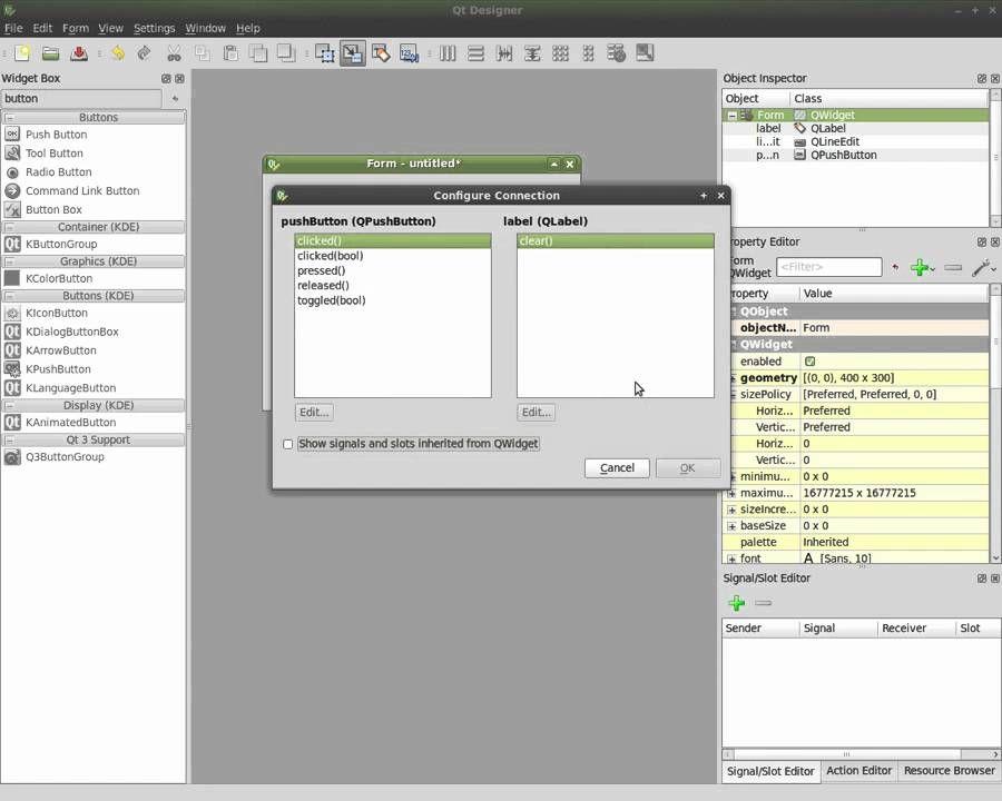Python and Qt4 Designer Part#1 - Hello World | - Python