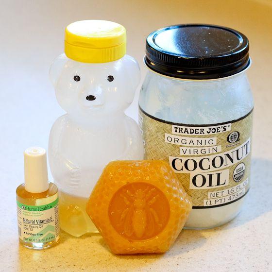 Daily Mom Easy DIY Lip Balm Coconut Oil Beeswax Vitamin E