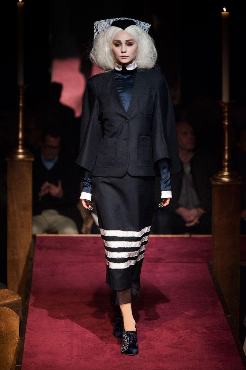 Thom Browne Built a Church, and the Fashion Crowd Came ToWorship Thom Browne Built a Church, and the Fashion Crowd Came ToWorship new images