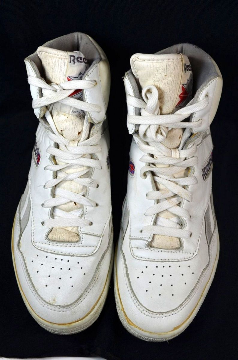 6402da18300 Size 8.5 42.5) 80s Vintage REEBOK BB4600 High Top BASKETBALL SHOES ...