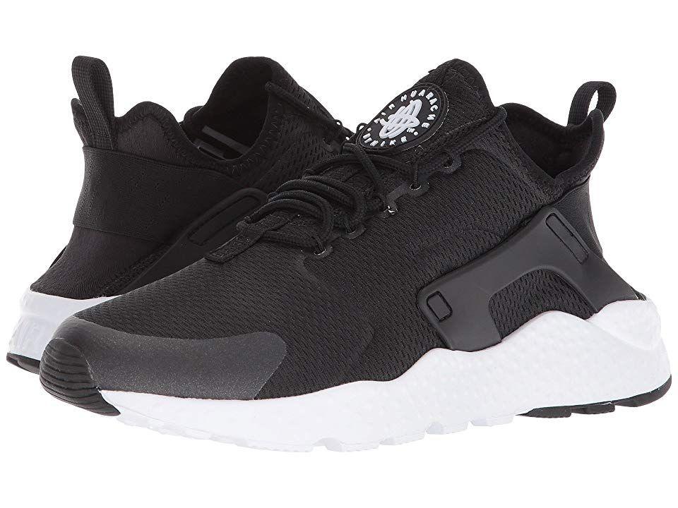 d020411643ca9 Nike Air Huarache Run Ultra (Black Black Black White) Women s Running Shoes.  Nike makes tracks in the Air Huarache Run Ultra sneaker.