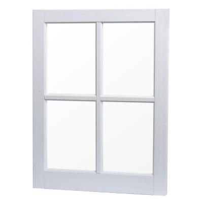TAFCO WINDOWS 22 in. x 29 in. Utility Fixed Picture Vinyl Window ...