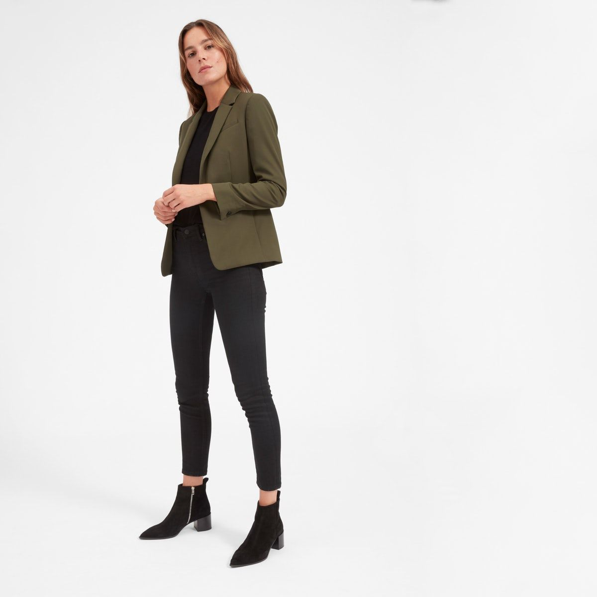 A truly iconic blazer Tailored for a slim silhouette with subtle