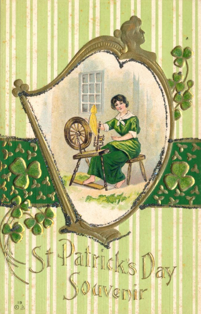 St. Patrick's Day Postcard, Visual Studies Collection