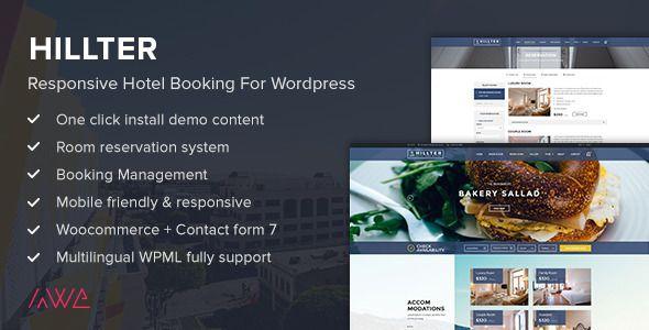 Hillter v1.11.2 - Responsive Hotel Booking for WordPress - http ...