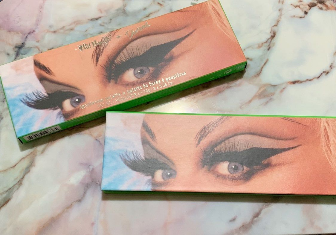 Kat von d divine palette new and not used never been