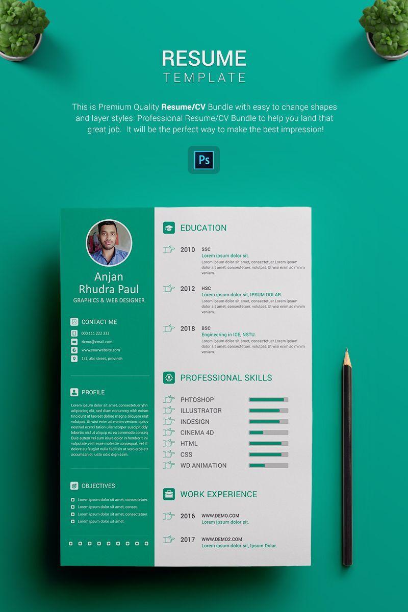 resume title for graphic designer