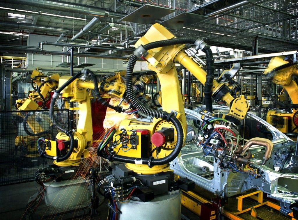 Automotive Manufacturing Mechatronics Industrial Robots Types