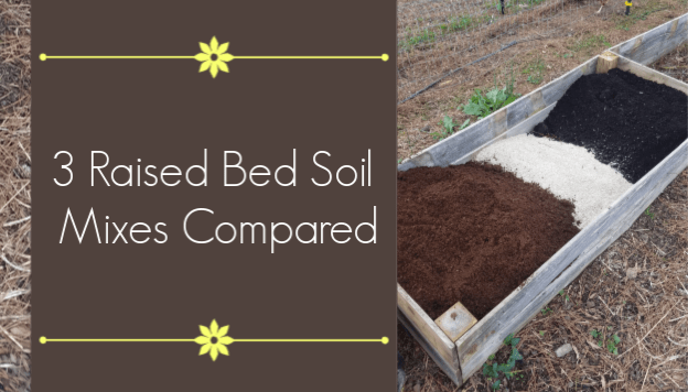 3 Raised Bed Soil Mixes Compared In 2020 With Images Gardening