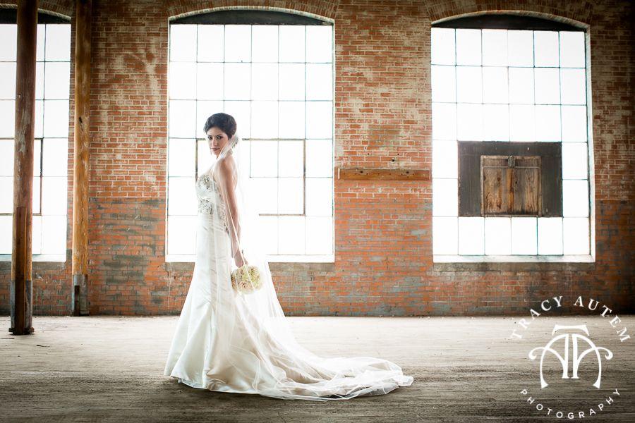 Haley Rusty Wedding Bridal Portrait Session McKinney Cotton Mill ...
