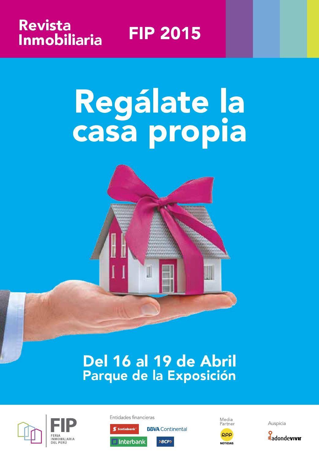 Feria Inmobiliaria Del Peru Fip 2015 Feria Inmobiliaria