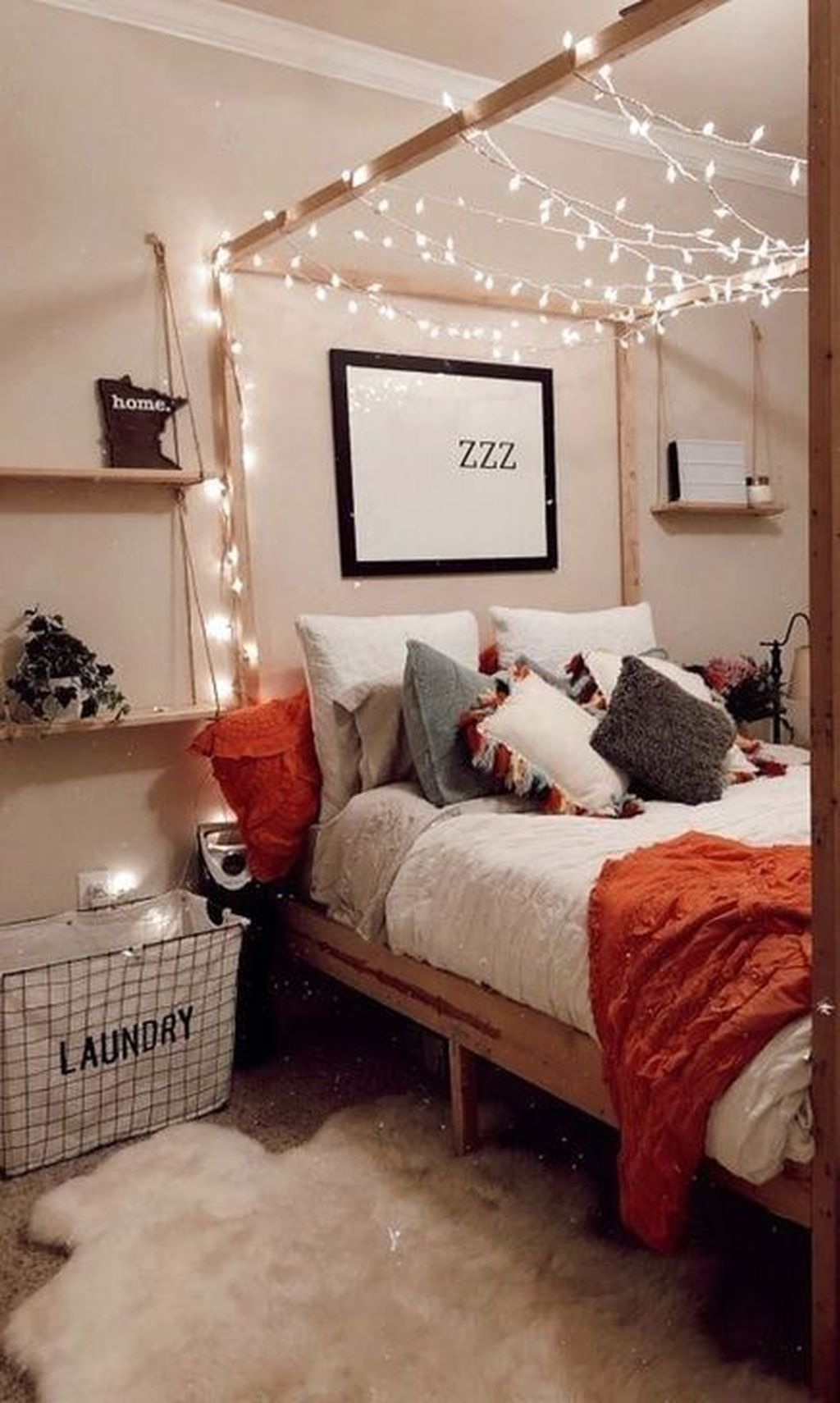 30 Stunning Teenage Bedroom Decoration Ideas With Big Bed In 2020