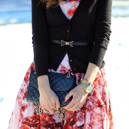 #Cherry Blossom #Winter #Style