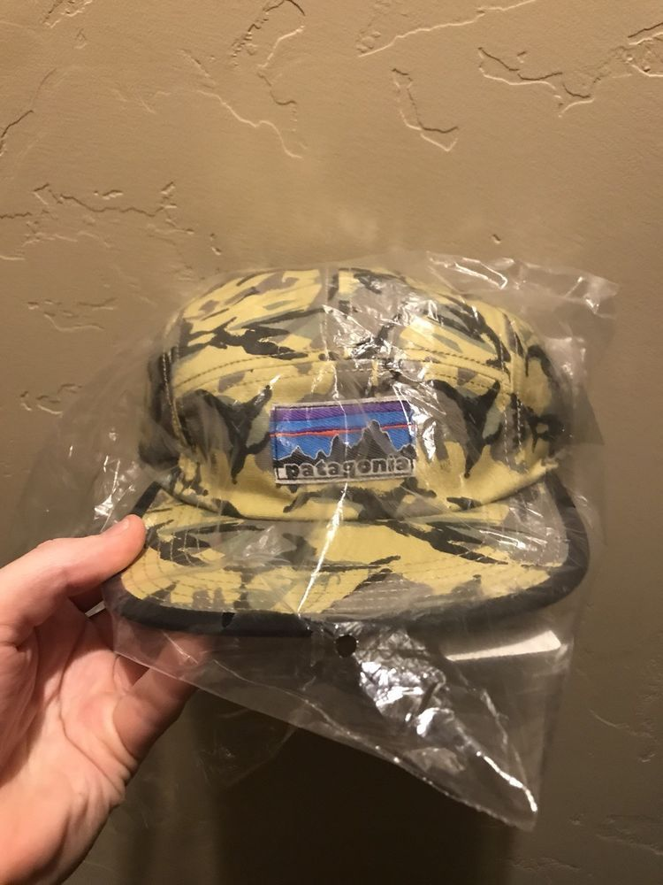 68836504c63 New Patagonia Retro Fitz Roy Label 5-Panel Hat Tradesmith Cap Camo  Adjustable  fashion  clothing  shoes  accessories  mensaccessories  hats  (ebay link)