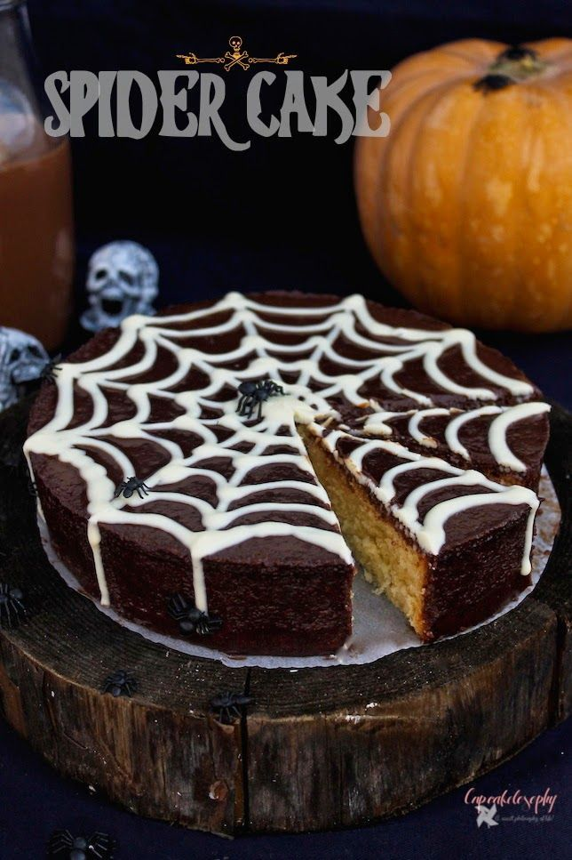 Receta de tarta para Halloween  Pinterest | https://pinterest.com/elcocinillas/