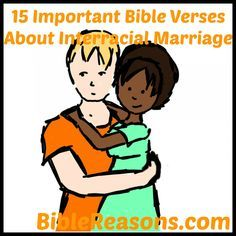 Mixed marriages in the bible