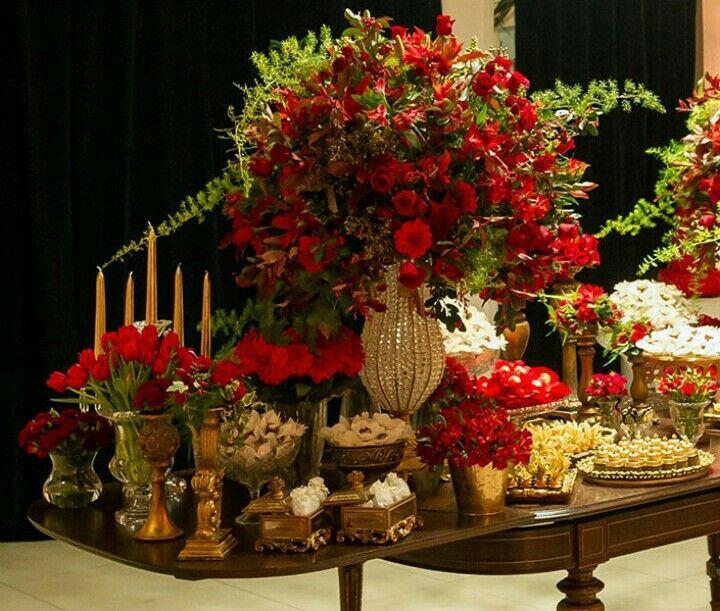 Casamento vermelho wedding red