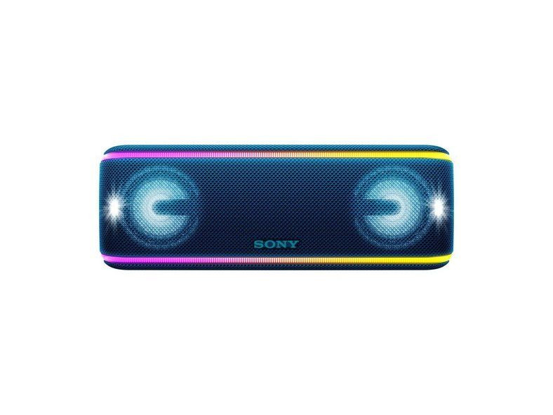 Sony Srs Xb41 Bluetooth Speaker Is A Portable Powerful Party Enhancing Machine Wireless Speakers Bluetooth Bluetooth Speaker Bluetooth