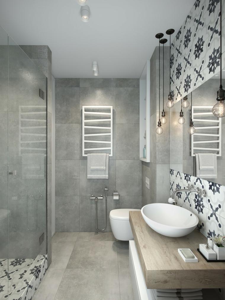 idee deco petite salle de bain contemporaine Shabby chic bathrooms