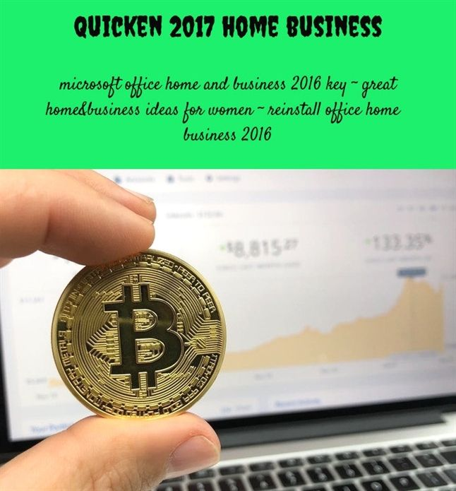 Quicken 2017 Home Business442018071112170125 Business Use Of