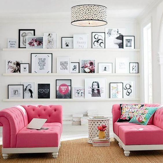 Comment aménager et décorer une chambre d\u0027ado fille Organizing