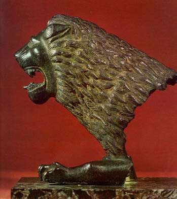 Lion's Head  First half of the 5th century BC    Etruria