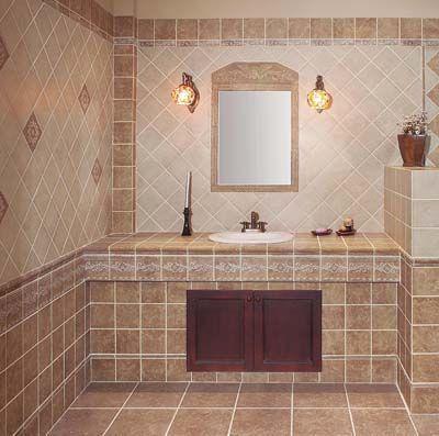 Descubre las ltimas novedades en azulejos decoraci n - Azulejos banos rusticos ...