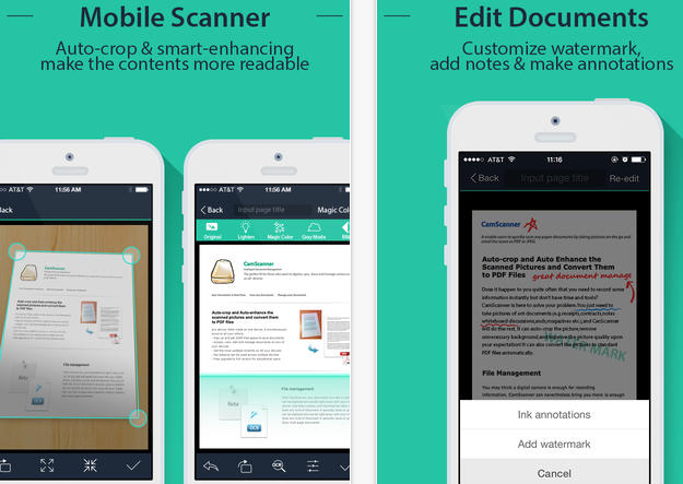 Scanning documents made easy! Cam Scanner Document