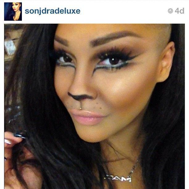 awesome cat makeup