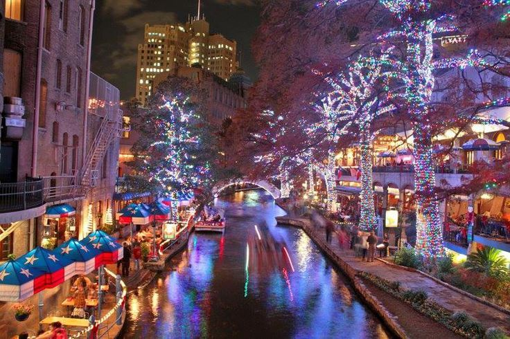 san antonio riverwalk christmas lights | San Antonio Riverwalk ...
