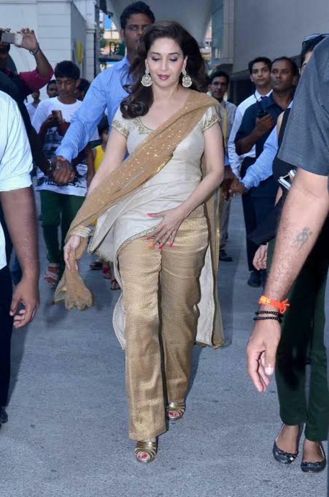 Madhuri Dixit In Anita Dongre   Fashion, Bollywood fashion