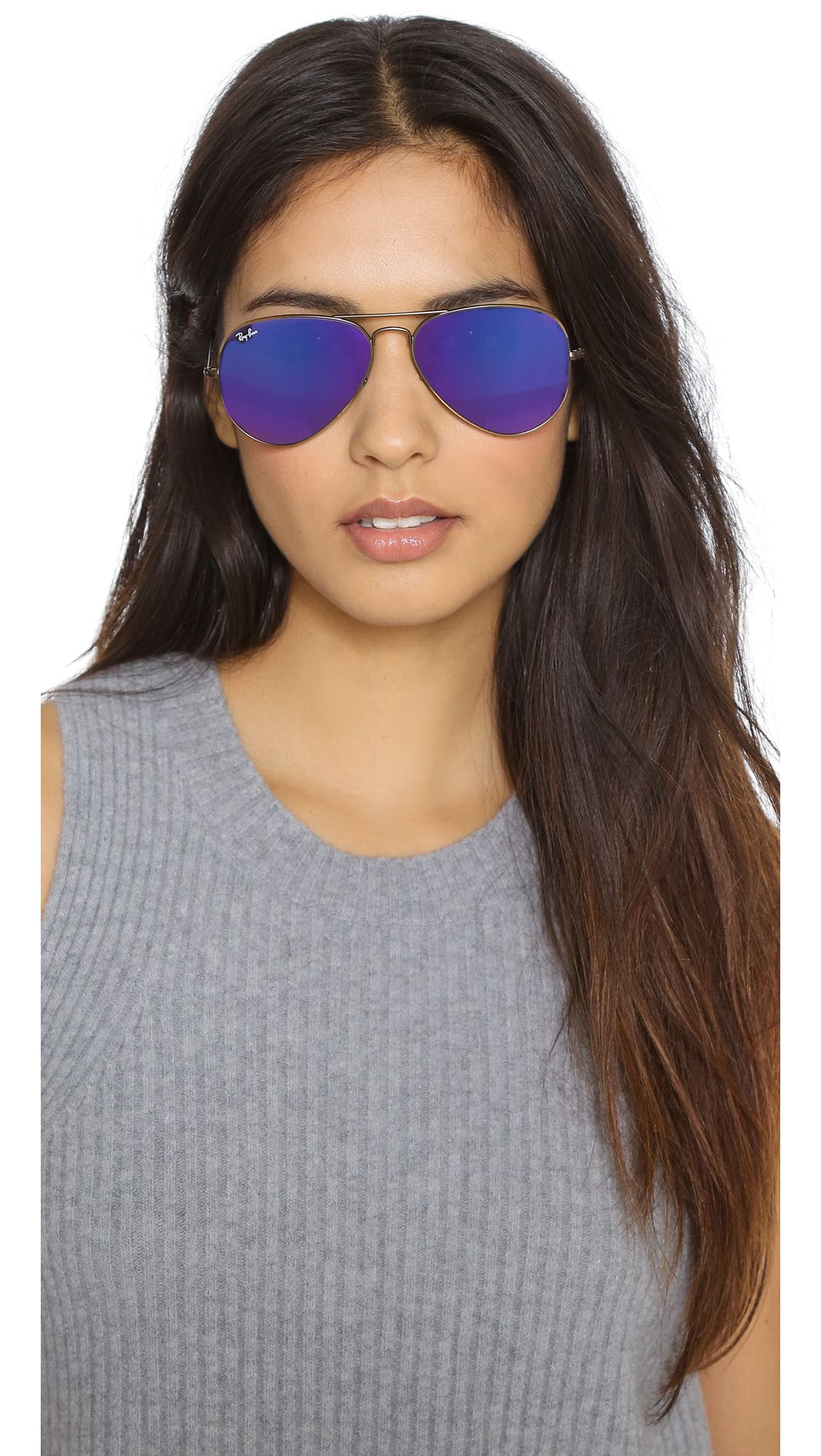 Ray Ban Mirrored Aviator Sunglasses Ray Ban Sunglasses