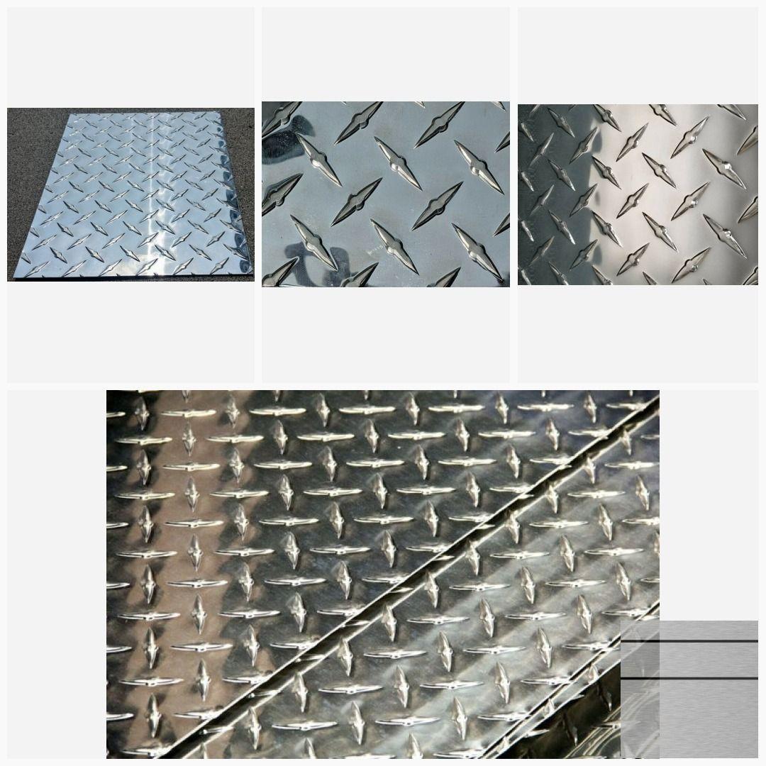 Aluminum Diamond Tread Plate 3003 H 14 063 24 X Etsy Diamond Plate Aluminum Free Etsy